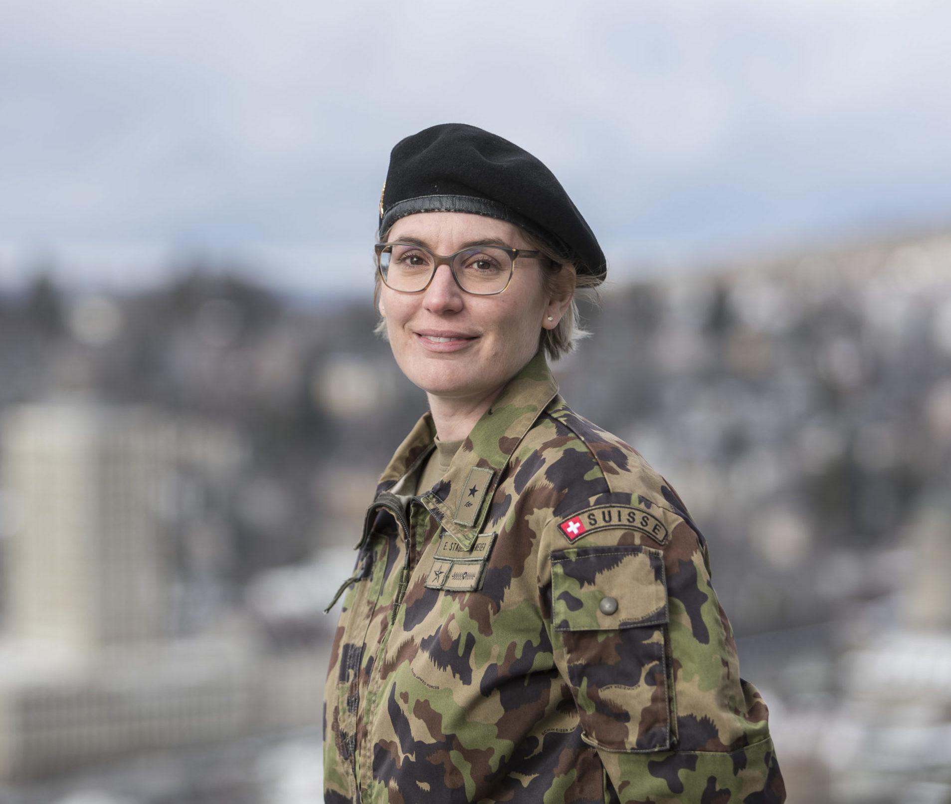 Oberstleutnant Elisabeth Stadelmann-Meier