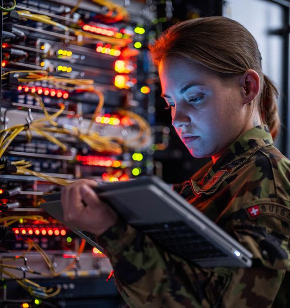 Frauen im Militär - Technikerin